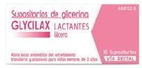 Imagen ampliada del producto SUPOSITORIOS DE GLICERINA GLYCILAX LACTANTES, 10 SUPOSITORIOS
