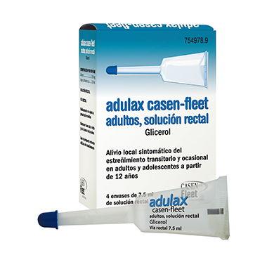 Imagen ampliada del producto ADULAX CASEN FLEET ADULTOS SOLUCIÓN RECTAL, 4 ENEMAS 7.5 ML